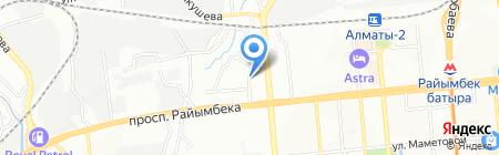 Участковый пункт полиции №62 на карте Алматы