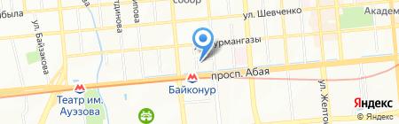 Слава ВЦ на карте Алматы