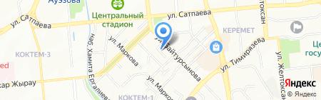 КОРЁ на карте Алматы