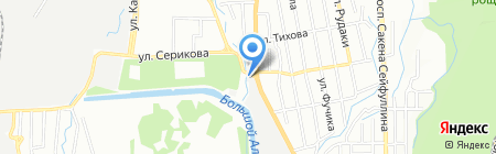АЗС Кулагер на карте Алматы