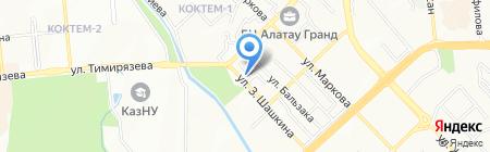 СеАй на карте Алматы