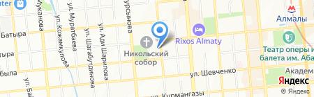 Алтын бидай на карте Алматы
