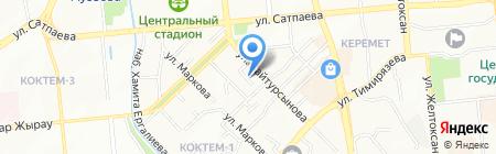 Академия Lashmaker на карте Алматы