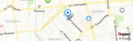 567 Creative Laboratory на карте Алматы