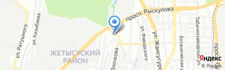 У Тамары на карте Алматы