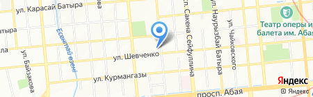 КазАТК на карте Алматы