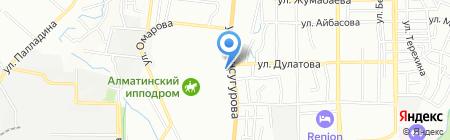 Республиканская ШВСМ по водным и прикладным видам спорта на карте Алматы