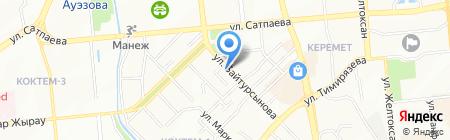 У лукоморья на карте Алматы