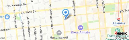 ПолиграфычЪ на карте Алматы