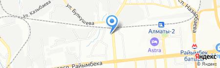 LED KZ на карте Алматы