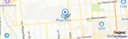 ERFA LTD на карте Алматы