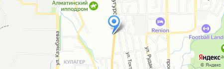 Пегас на карте Алматы