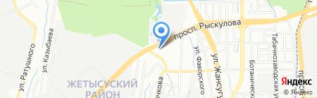 Марина продуктовый магазин на карте Алматы