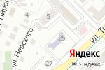 Схема проезда до компании Ясли-сад №108 в Алматы