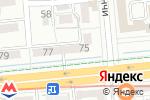 Схема проезда до компании Поехали с нами в Алматы