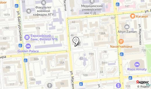 Аптеки Казахстана. Схема проезда в Алматы