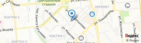 Элитные окна ТОО на карте Алматы