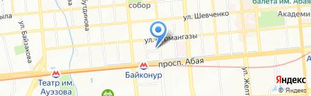Студия Красоты №8 на карте Алматы