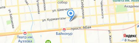 TV DOM на карте Алматы
