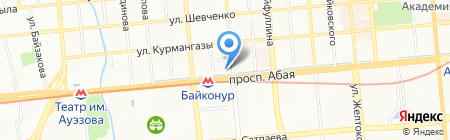 Жулдызды балалар на карте Алматы