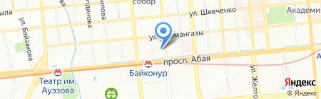 Алматы Строй Геодезия на карте Алматы