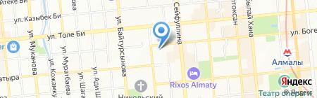 Институт высоких технологий на карте Алматы