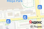 Схема проезда до компании KIRANA company в Алматы