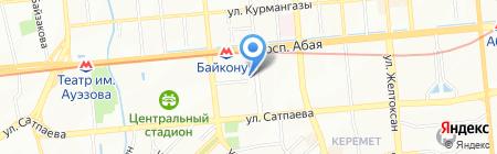 Аксу Курылыс на карте Алматы