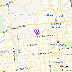 МРТ Лидер, Алматы на карте