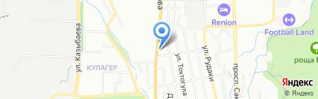 Конфеты Караганды на карте Алматы