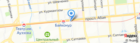 Даригер-3 на карте Алматы