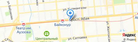 Аптека на дом на карте Алматы