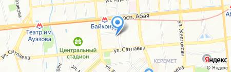У Ирины на карте Алматы