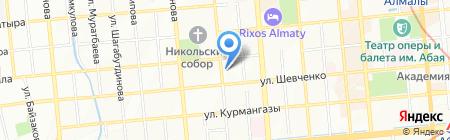 Хенкель Баутехникс Казахстан ТОО на карте Алматы