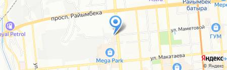 Служба вскрытия замков на карте Алматы