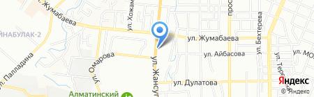 АВТОДОМ на карте Алматы