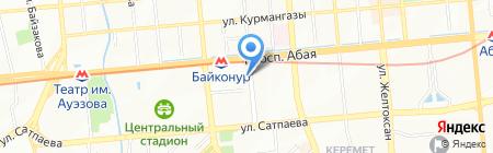 Central Asia Telecom на карте Алматы