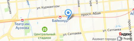 Аль-Арумед на карте Алматы