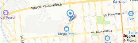 Esperanza Game Hall на карте Алматы