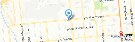 Нотариус Елеуова А.У. на карте Алматы
