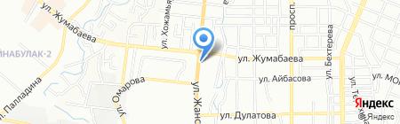 Рустам на карте Алматы