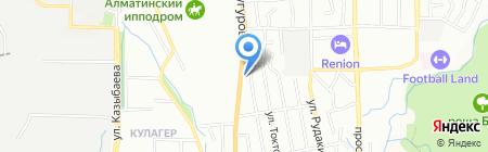 Ветеринарная клиника доктора Бугаёва на карте Алматы
