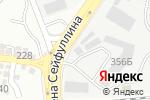 Схема проезда до компании Global Chzhang в Алматы