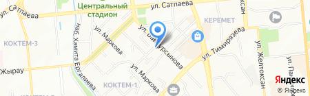 Battle на карте Алматы