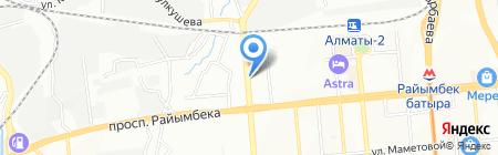 Asia Gold River на карте Алматы