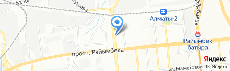 Антипожар на карте Алматы