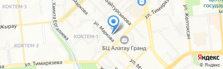 Astana Capital Construction на карте Алматы