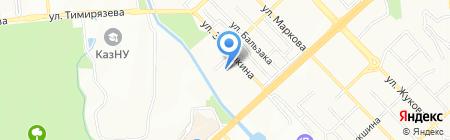 Детский санаторий №3 на карте Алматы