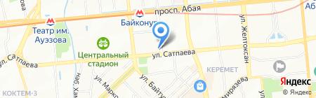 Riza-Dent на карте Алматы