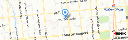 Альянс МД на карте Алматы